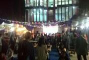 Mahasiswa STIEB Perdana Mandiri Purwakarta Gelar Bazar Ramadhan
