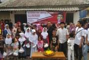 Gabungan Relawan Di Cianjur Rayakan Ultah Jokowi Ke 56 Tahun